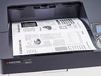Лазерный широкоформатный принтер Kyocera ECOSYS P4040DN формата А3. Монохромная качественная печать.