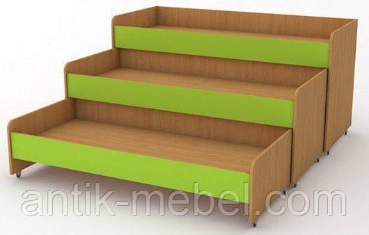 Детская кровать трехъярусная, фото 1