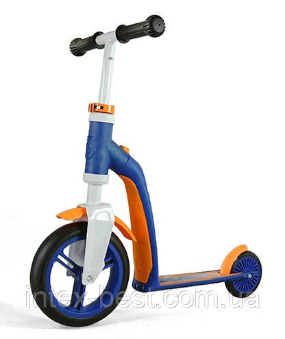 Самокат Scoot&Ride Highwaybaby Сине-Оранжевый SR-216271