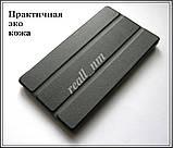 Черный кожаный чехол-книжка TF Case для планшета Lenovo Tab 2 A7-10/ A7-10F, фото 3