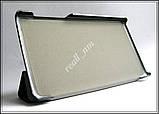 Черный кожаный чехол-книжка TF Case для планшета Lenovo Tab 2 A7-10/ A7-10F, фото 6