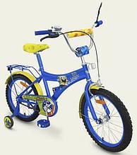 Детский двухколесный велосипед Губка Боб