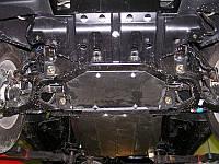Защита картера, КПП и раздатки Кольчуга SsangYong Actyon 2006- Цинкo-полимерный композит ZiPoFlex®