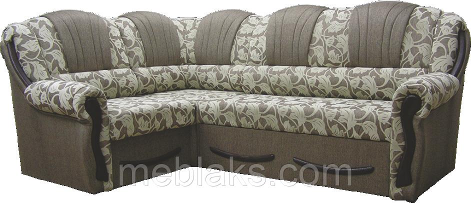 Угловой мягкий диван Лилия