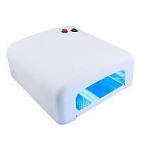 УФ лампа для сушки гелей и Shellac 818, 36 Вт, 4 лампы, таймер на 2 минуты и режим безконечности