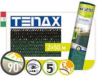 Сетка полимерная, тканная для затенения « Тенакс Солеадо» зеленая 2х50.