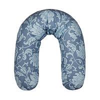 Подушка для беременных и для кормления детей (наполнитель пенополистирольные шарики) EKO