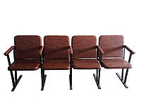 Кресло для актовых залов, 4места, фото 1