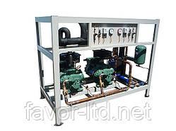 Централь ,мультикомпрессорная холодильная установка, холодильна установка, BITZER, 6G-30.2Y