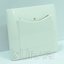Выключатель энергосберегающий белая OSCAR