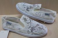 Детские мокасины сеточка цвета шампань, текстильная обувь р.32,33
