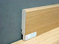 Плинтус деревянный шпонированный Тратлайн Дуб Амбер масло  82*16*2400 мм