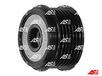 Шкив обгонная муфта генератора Ford Connect 1.8 TDi (02-06). Форд Коннект. 6 пазов. AFP9006 - AS Poland.