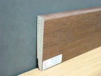 Плинтус деревянный шпонированный Тратлайн Дуб Тоскана  82*16*2400 мм
