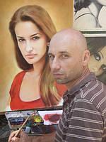 Нарисовать портрет с фотографии