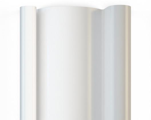 RAL 9003 - белый профиль стальной роллеты