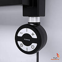 ТЭН Terma MOA Black с кабелем, 200 W