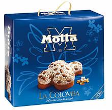 Итальянские куличи (панеттоне) Motta La Colomba с цельным миндалем 750 г.