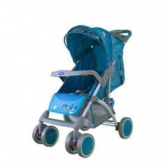 Прогулочная коляска Bambini King Blue Pirate