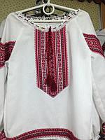 Вышиванка женская красная
