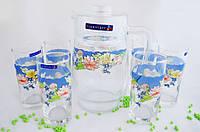 Набор стаканов для сока с графином Luminarc Florine c6831