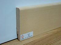 Плинтус деревянный шпонированный RIVESTWOOD Ясень 82*16*2400 мм