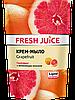 Рідке крем-мило дой-пак Grapefruit 460мл Fresh Juice