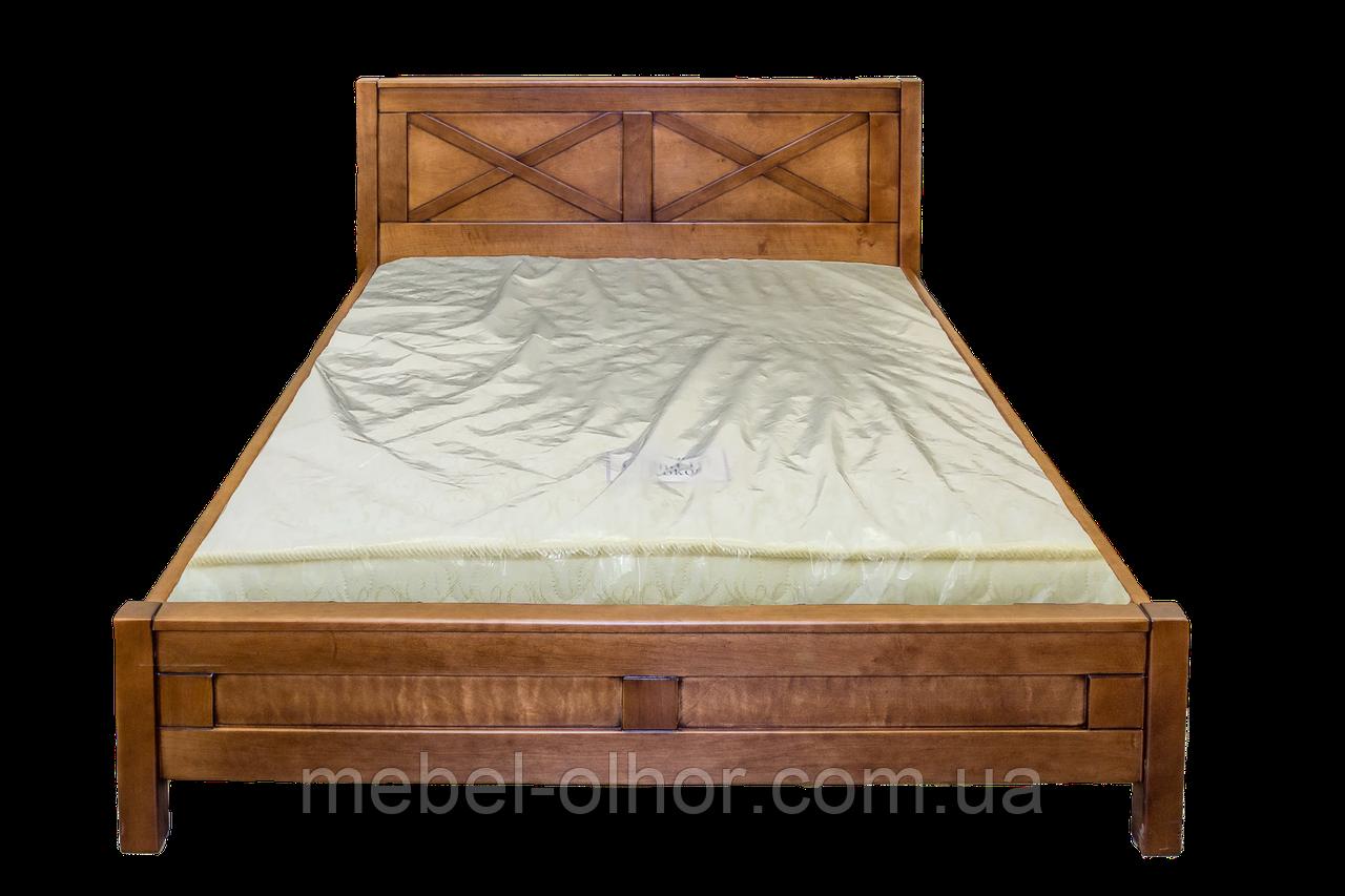 Кровать из дерева Глория 140*200 орех