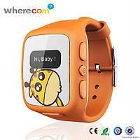 Детские умные часы Wherecom KidFit Watch с GPS-трекером Оранжевые