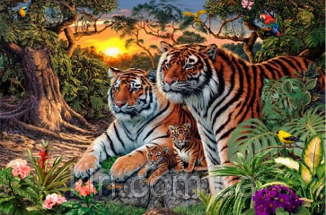 Набор алмазной вышивки Два тигра KLN 20 х 25 см (арт. FS186)