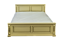 Кровать полуторная из массива Версаль эмаль