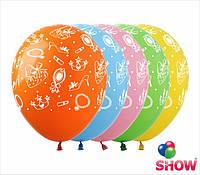 """Воздушные шарики Мода 12"""" (30 см)  ТМ Show"""