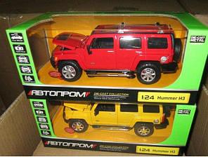 Машина металлическая Hummer 68240А, масш. 1:24,АВТОПРОМ, фото 2
