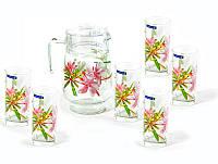 Набор стаканов для сока с графином Luminarc Freesia g8279