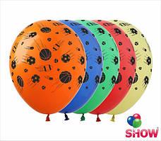"""Воздушные шарики Мячи 12"""" (30 см)  ТМ Show"""