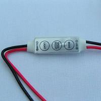 Одно-канальный контроллер без пульта 12V; 6А (мини корпус)