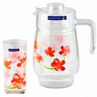 Набор стаканов для сока с графином Luminarc Sweet Impresion L2218