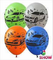 """Надувные шарики авто 12"""" (30 см)  ТМ Show"""