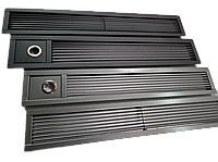 Решетка декоративная верхняя для внутриподоконного радиатора Radopol 2000 мм