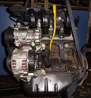 Двигатель D4F 730 55кВт без навесногоRenaultTwingo 1.2 16V1992-1998