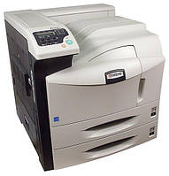 Лазерный широкоформатный принтер Kyocera FS-9130DN формата А3. Монохромная качественная печать.