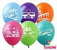"""Надувные шарики для мальчиков группа -1 12"""" (30 см)  ТМ Show"""