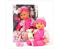 "Кукла Мила ""Сон с медвежонком"" 5377, фото 1"