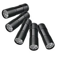 Фонарик светодиодный (9 LED, 60 люмен, 1 режим, 3xAAA)