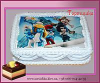 Торт Смурфики