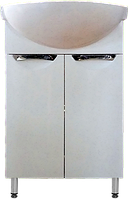 Тумба Дельфин Т1 с  умывальником Церсания-55 ( в белом цвете)