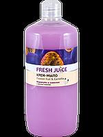 Жидкое крем-мыло Passion Fruit & Camellia 1000мл Fresh Juice