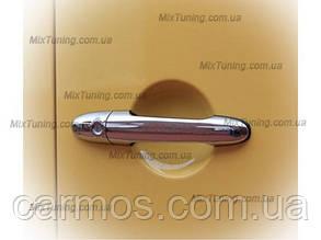Накладки на ручки Mercedes sprinter 906 (мерседес спринтер 906), нерж. 4 шт CARMOS
