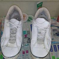 Кроссовки белые унисекс размер 40