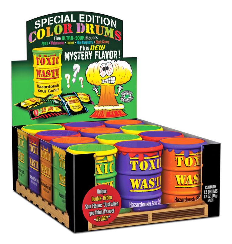 Самые кислые конфеты в мире - Toxic Waste  mystery flavor - Sweet Flavor в Киеве
